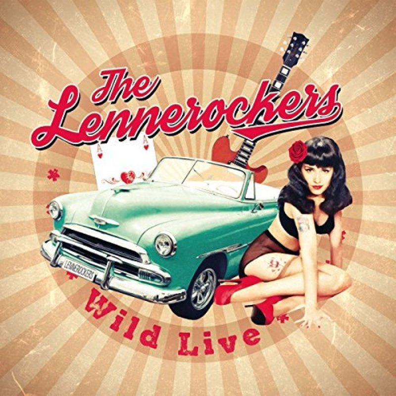 The Lennerockers - Wild Live (CD)
