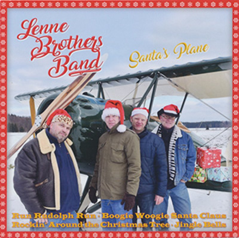 LenneBrothers Band - Santa's Plane (CD)